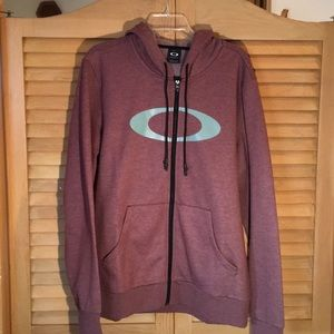 NWT Oakley Zip Up Sweater with Hood - Classy